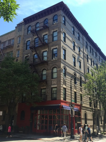 The apartment building from Friends